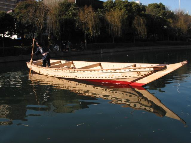 Douglas Brooks Boatbuilder - Japanese Boats, Chokkibune