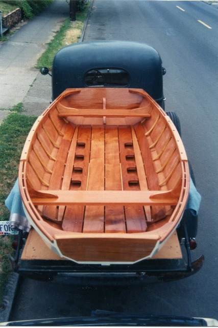 Douglas Brooks Boatbuilder - Custom Boats, Herreshoff Pram Dinghy
