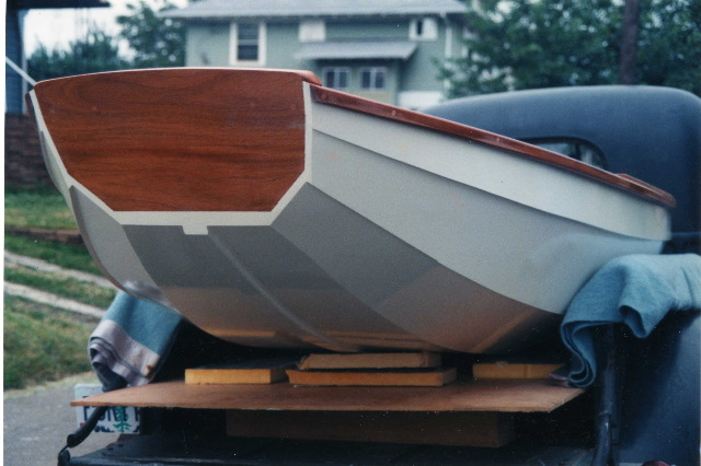 Plywood pram boat plans 16