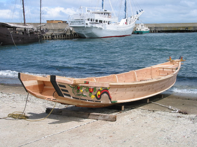 Traditional Japanese Fishing Boats